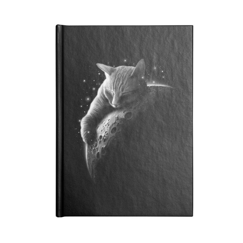 MOONCAT 2018 Accessories Notebook by Threadless Artist Shop
