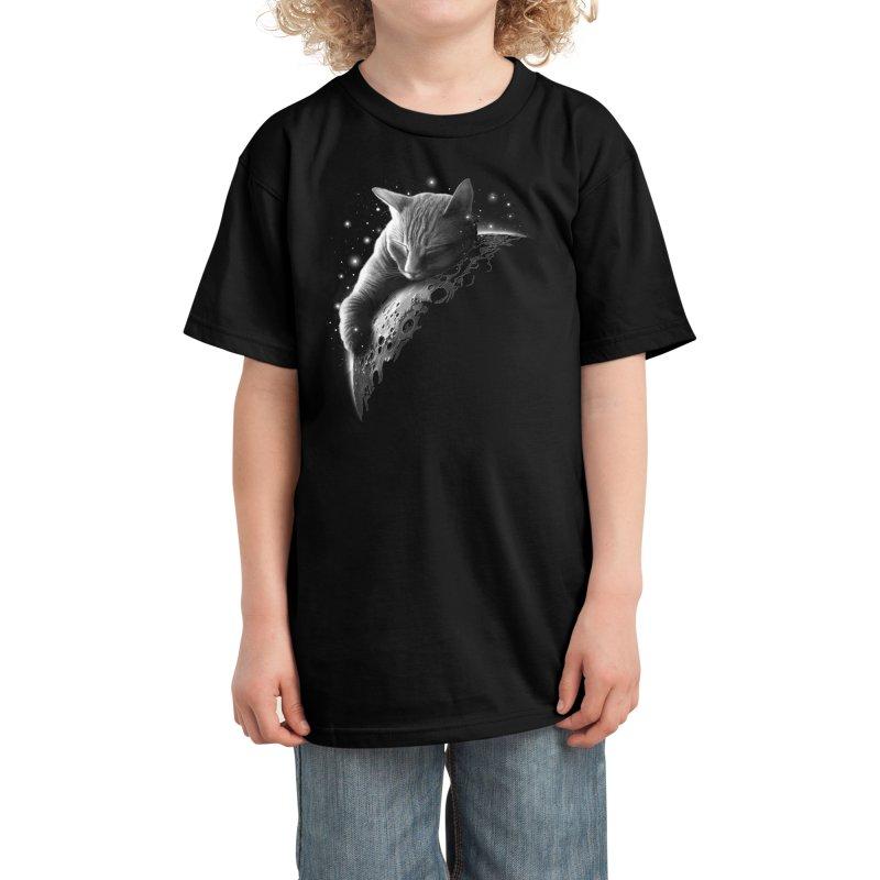 MOONCAT 2018 Kids T-Shirt by Threadless Artist Shop
