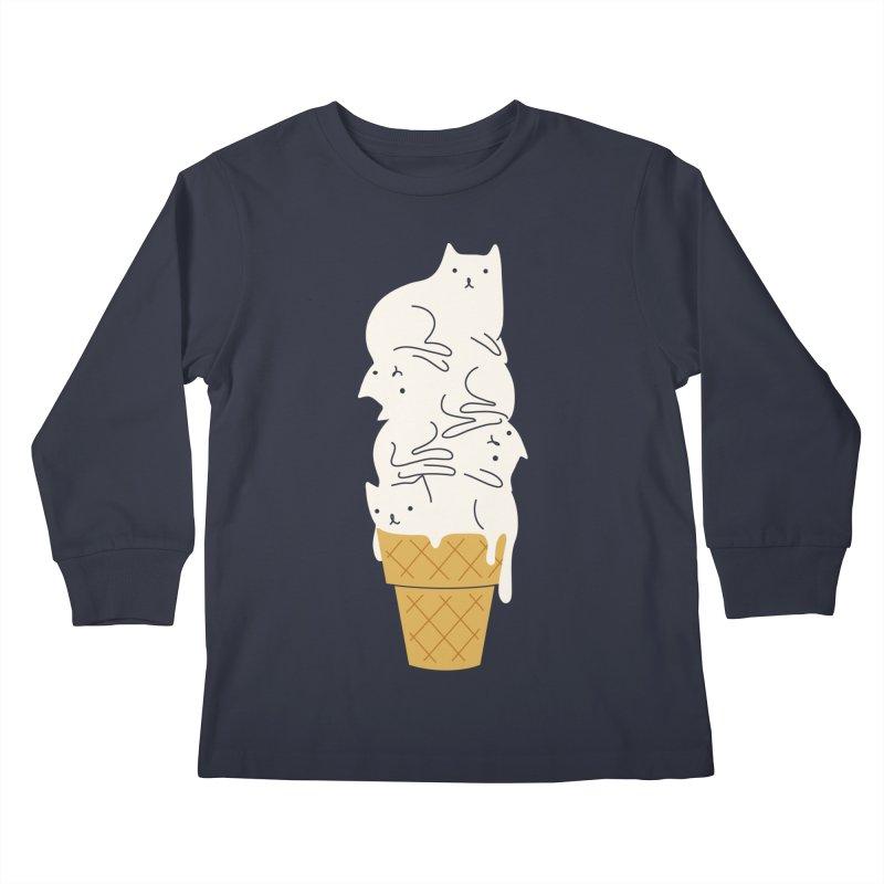 Meowlting Kids Longsleeve T-Shirt by Threadless Artist Shop
