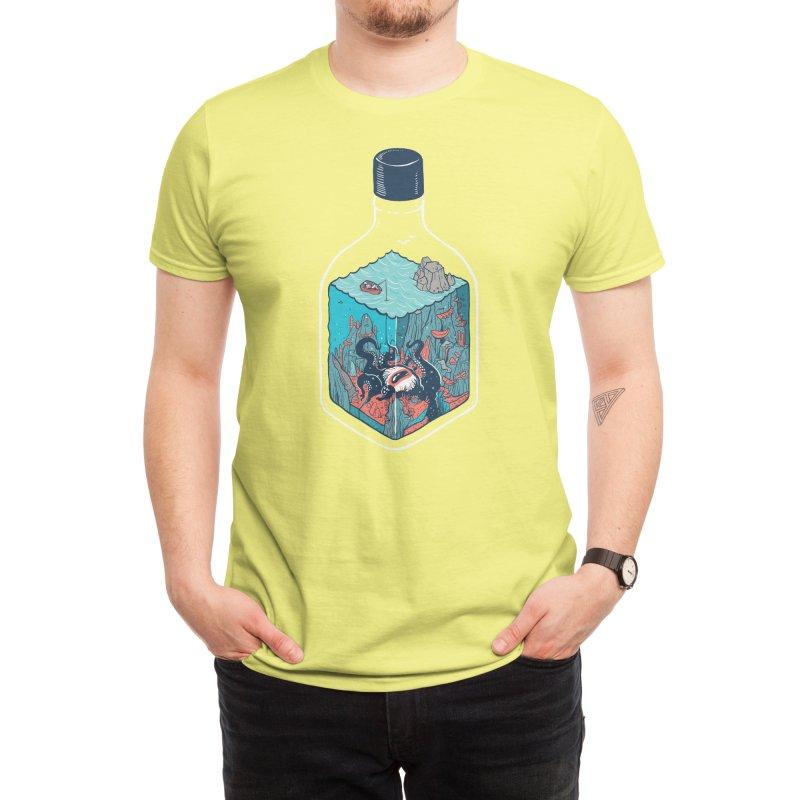deep down at the bottom of the bottle Men's T-Shirt by Threadless Artist Shop