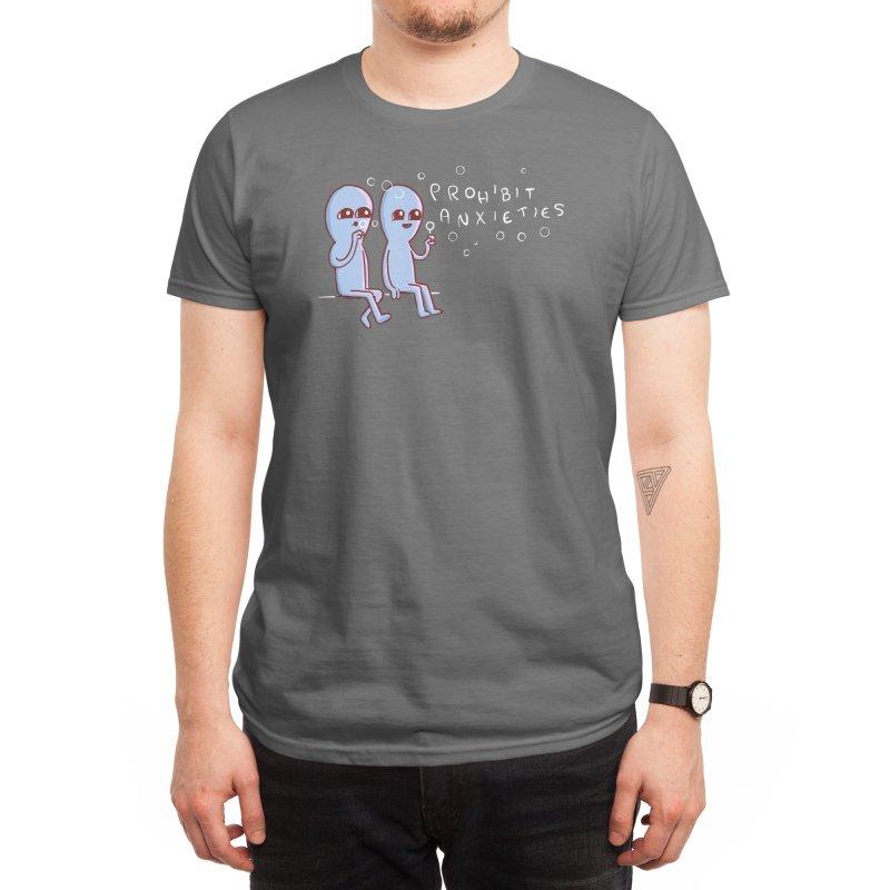 Strange Planet: Prohibit Anxieties Men's T-Shirt by Threadless Artist Shop