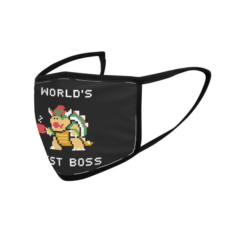 World's Best Boss Accessories Face Mask by Threadless Artist Shop