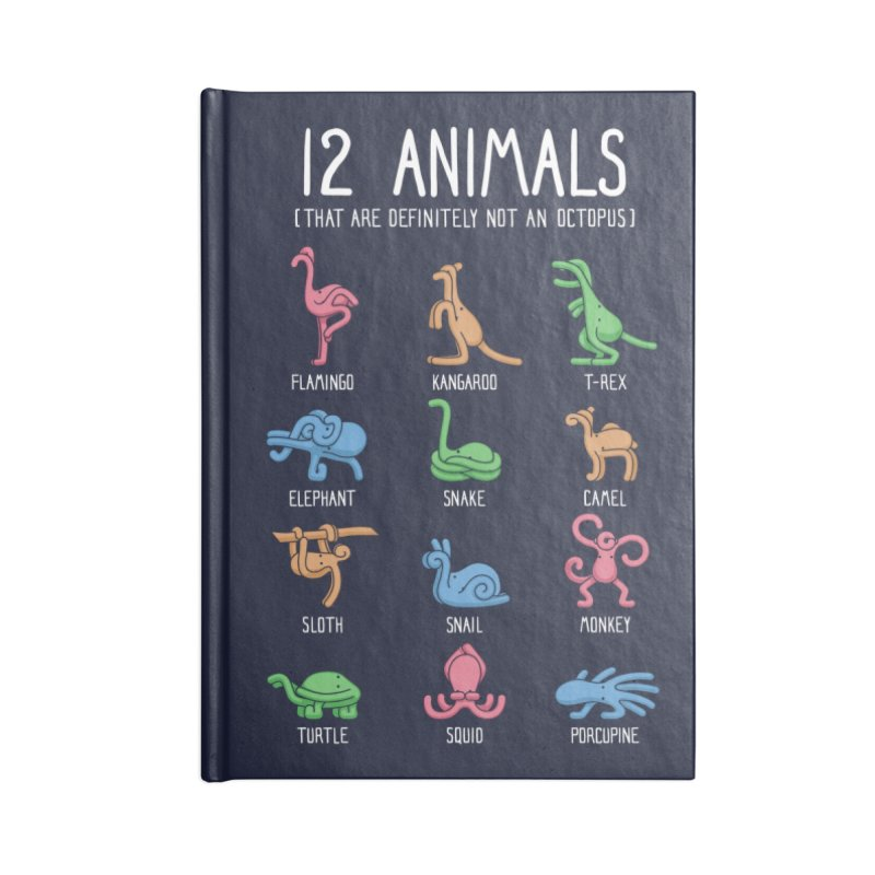 12 Animals (That Are Definitely Not An Octopus) Accessories Notebook by Threadless Artist Shop