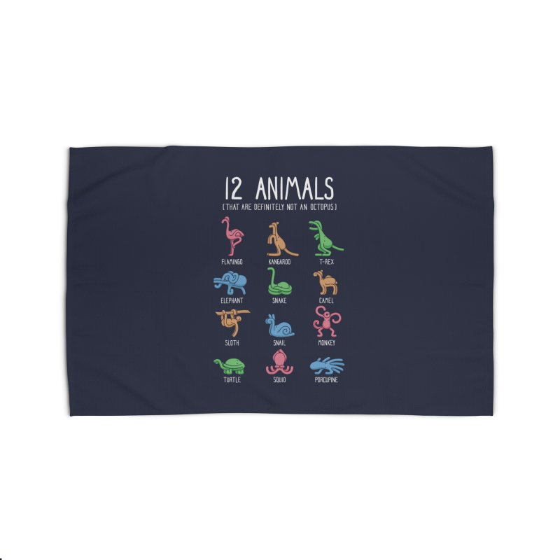 12 Animals (That Are Definitely Not An Octopus) Home Rug by Threadless Artist Shop