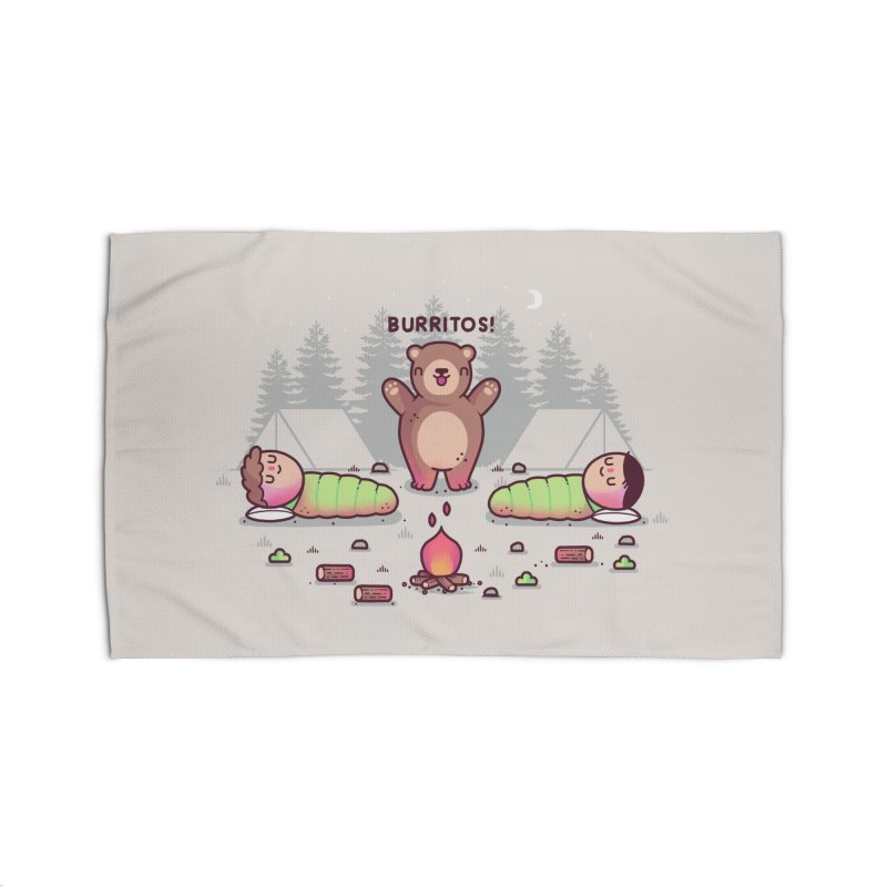 Burritos Home Rug by Threadless Artist Shop