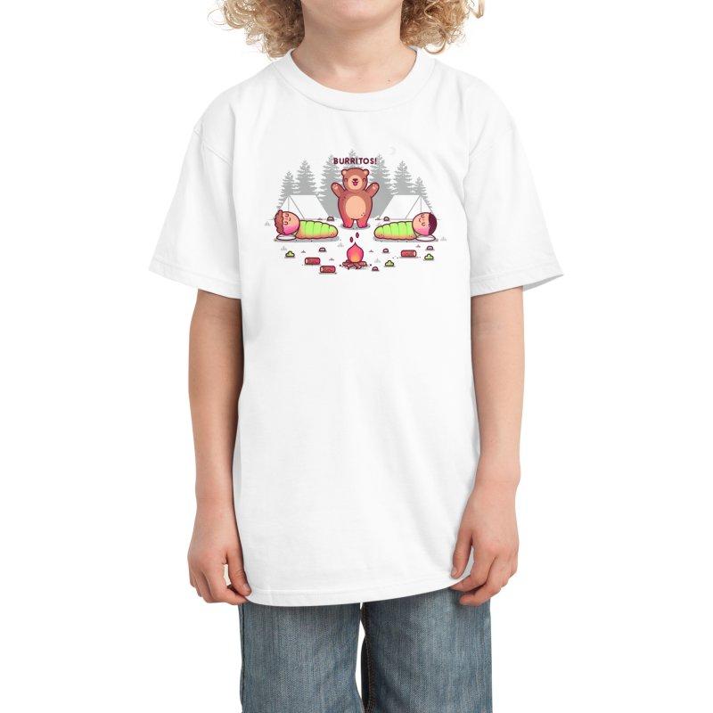 Burritos Kids T-Shirt by Threadless Artist Shop