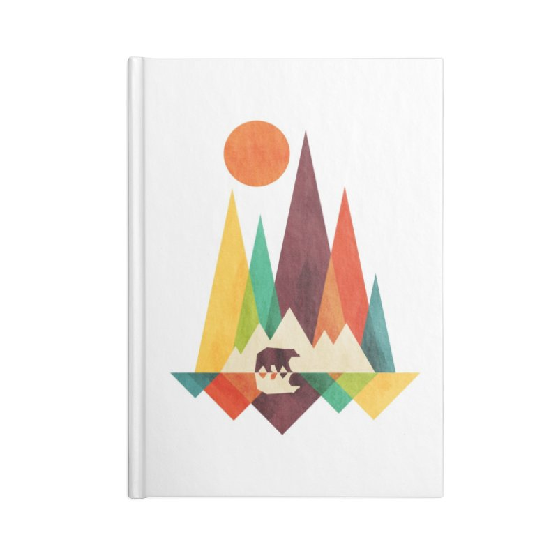 Great Outdoors - radiomode Accessories Notebook by Threadless Artist Shop