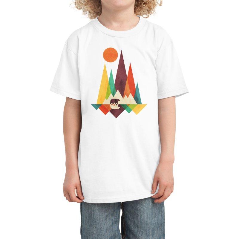 Great Outdoors - radiomode Kids T-Shirt by Threadless Artist Shop