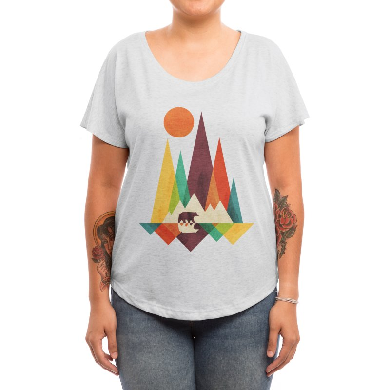 Great Outdoors - radiomode Women's Scoop Neck by Threadless Artist Shop