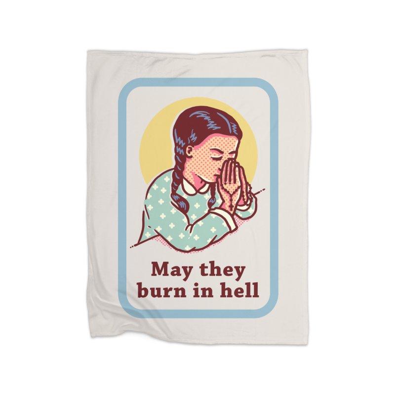Burn in Hell Home Blanket by Threadless Artist Shop