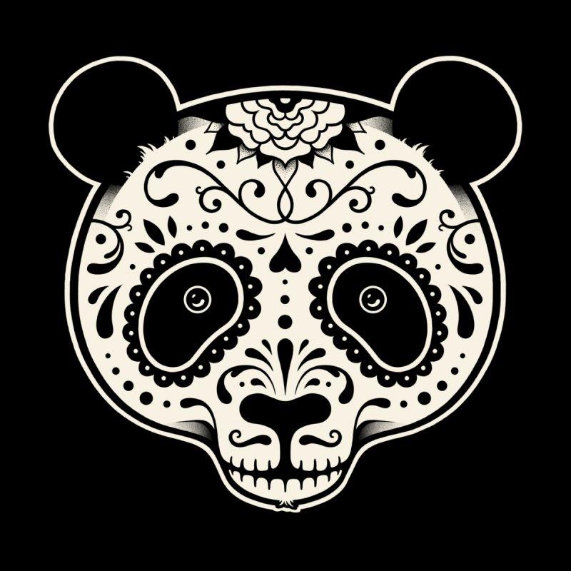Day of the Dead Panda Women's T-Shirt by Threadless Artist Shop