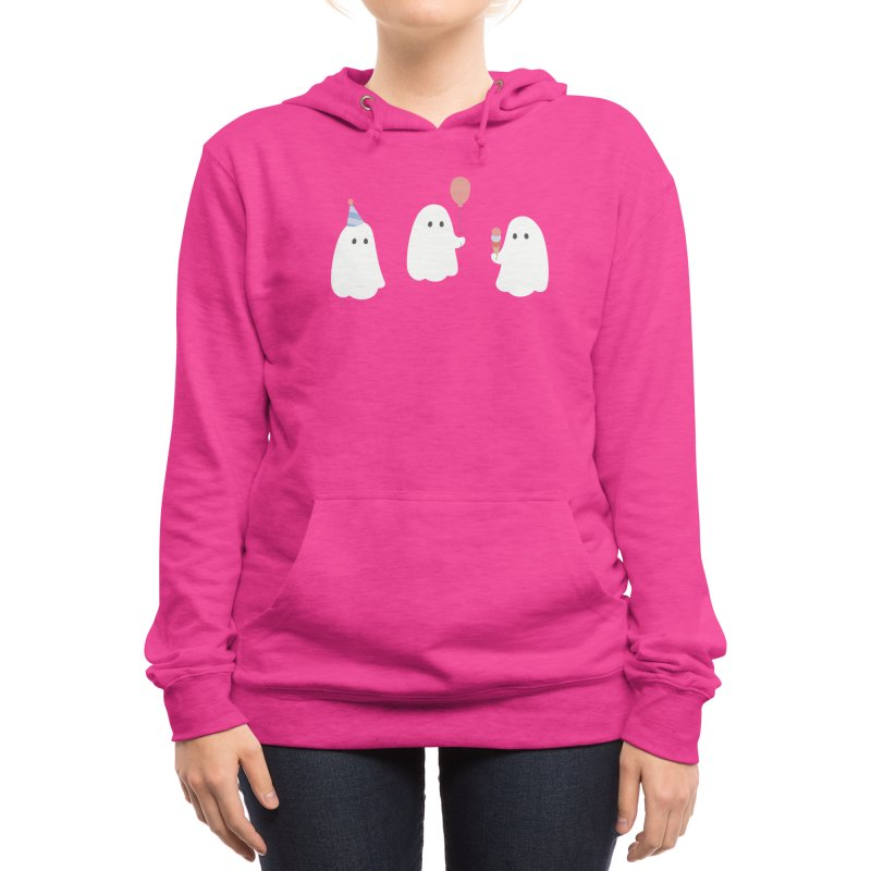 Deathday party Women's Pullover Hoody by Threadless Artist Shop