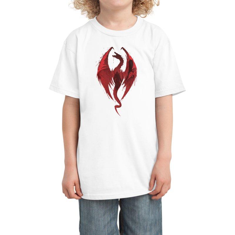 Dragon's Bane Kids T-Shirt by Threadless Artist Shop