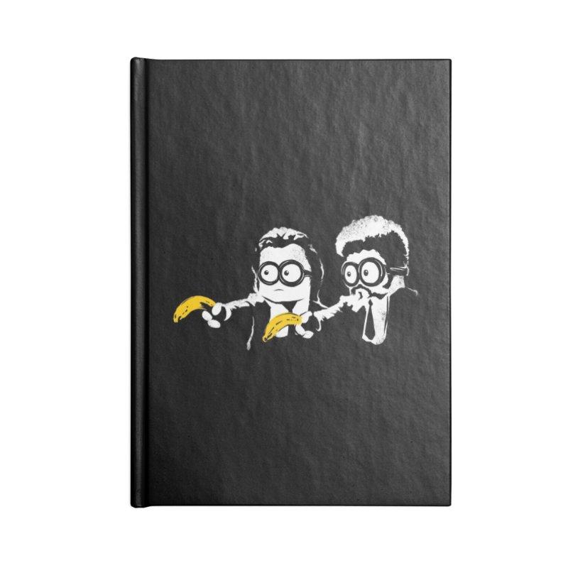Banana Fiction Accessories Notebook by Threadless Artist Shop