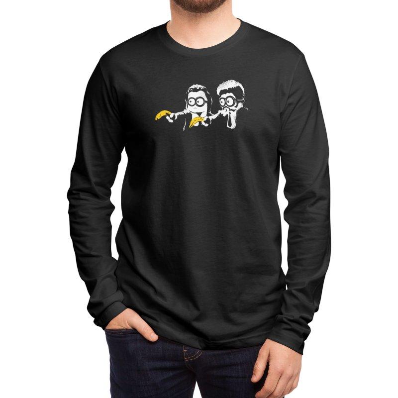 Banana Fiction Men's Longsleeve T-Shirt by Threadless Artist Shop