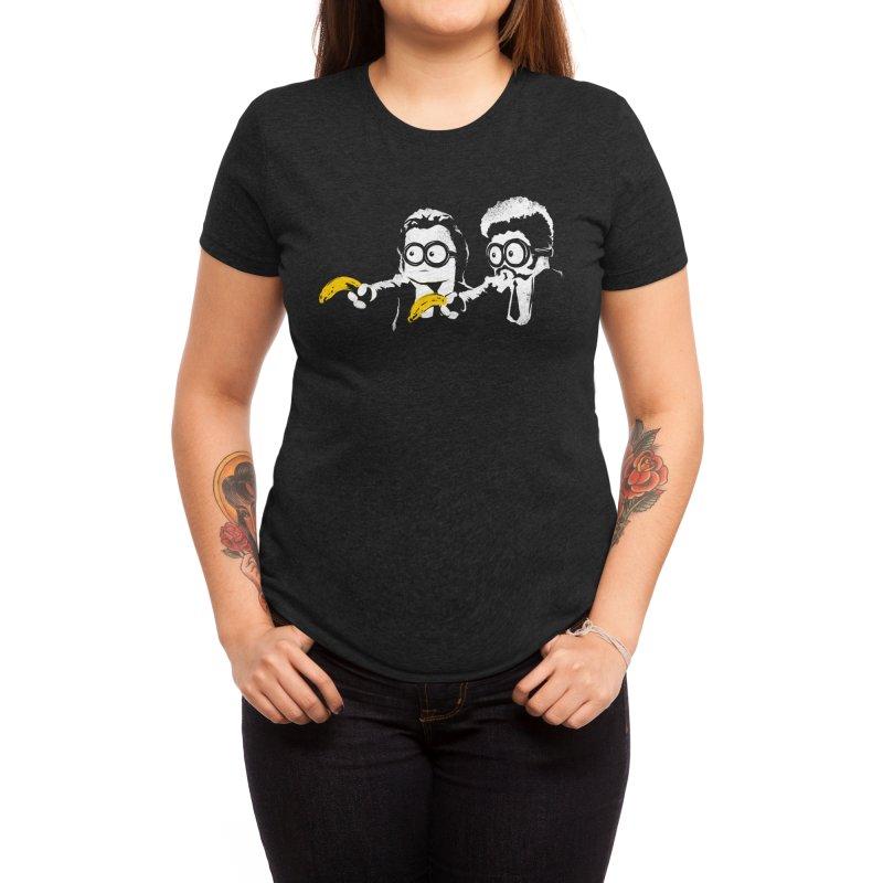 Banana Fiction Women's T-Shirt by Threadless Artist Shop