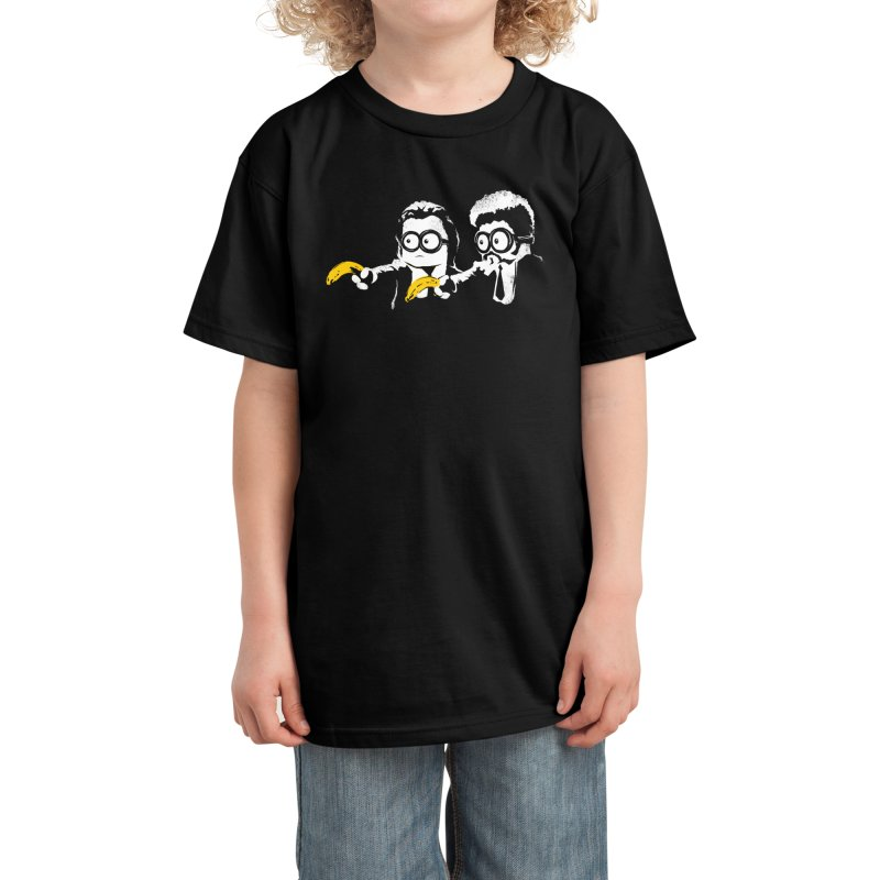 Banana Fiction Kids T-Shirt by Threadless Artist Shop