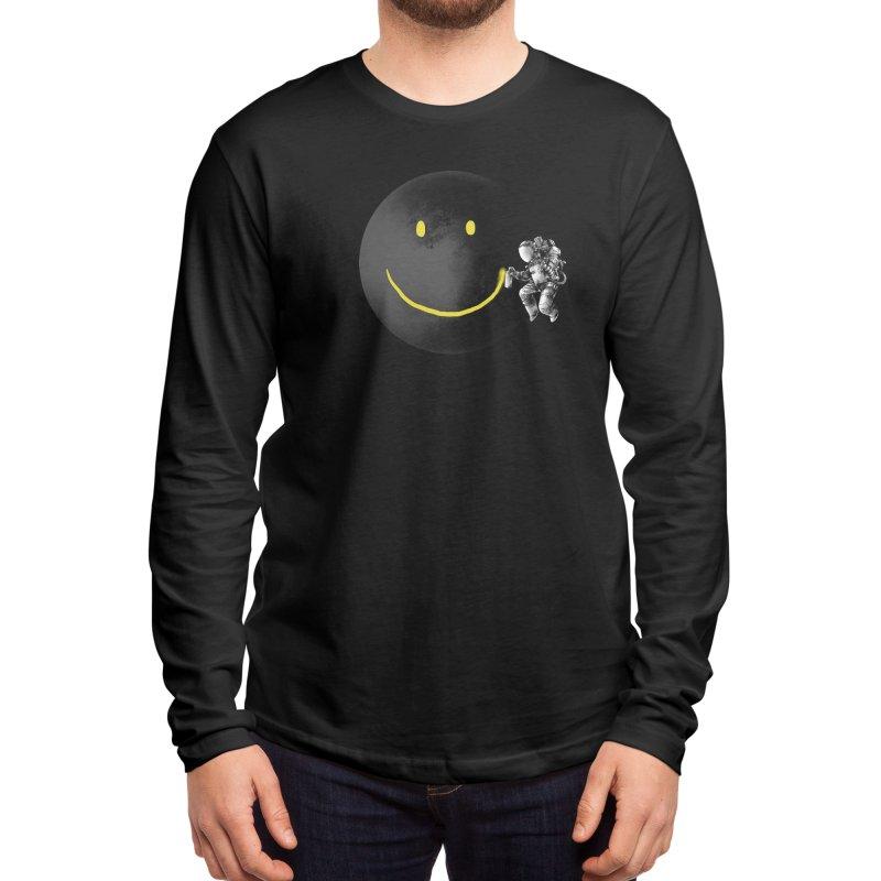 Make a Smile Men's Longsleeve T-Shirt by Threadless Artist Shop