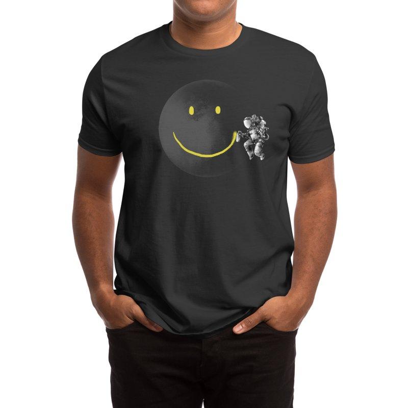 Make a Smile Men's T-Shirt by Threadless Artist Shop