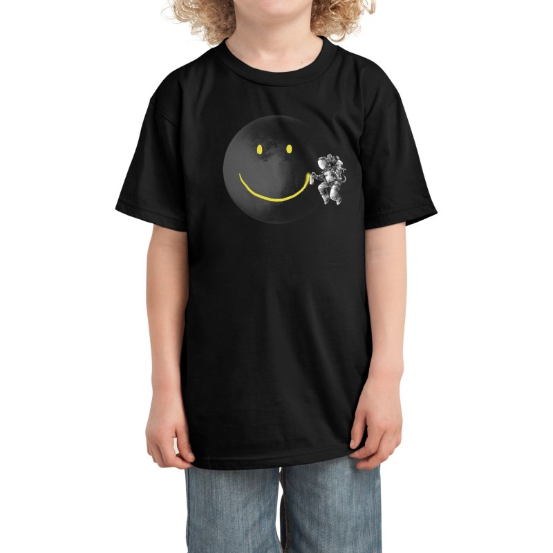 Make a Smile Kids T-Shirt by Threadless Artist Shop