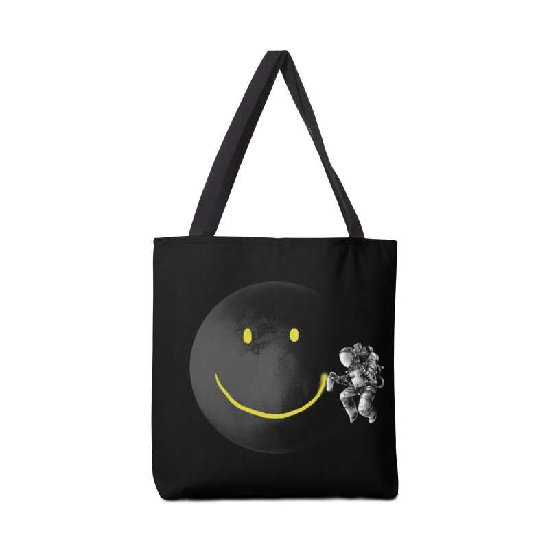Make a Smile Accessories Bag by Threadless Artist Shop