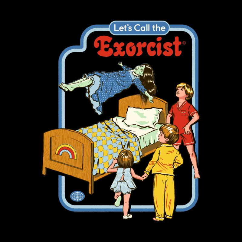 Let's Call the Exorcist Men's T-Shirt by Threadless Artist Shop
