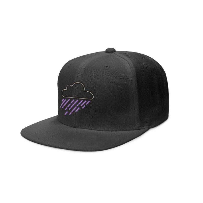 Purple Rain Accessories Hat by Threadless Artist Shop