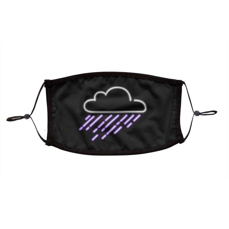 Purple Rain Accessories Face Mask by Threadless Artist Shop