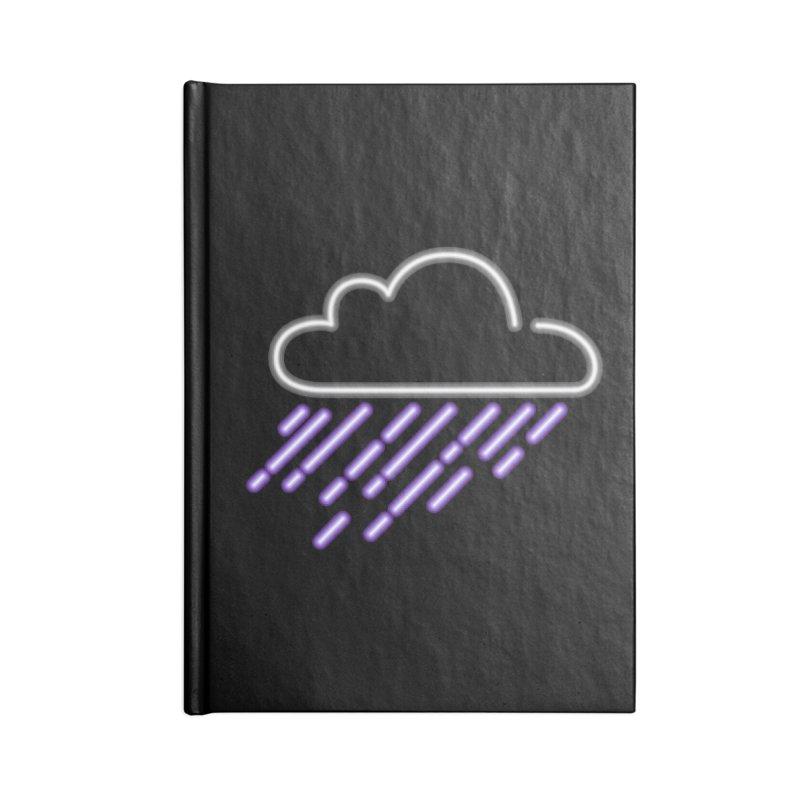 Purple Rain Accessories Notebook by Threadless Artist Shop