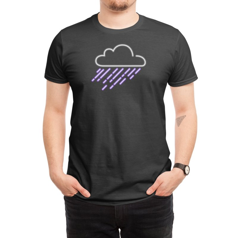 Purple Rain Men's T-Shirt by Threadless Artist Shop