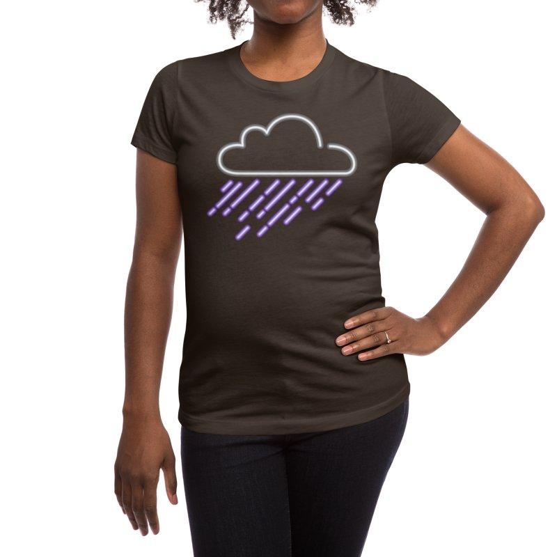 Purple Rain Women's T-Shirt by Threadless Artist Shop