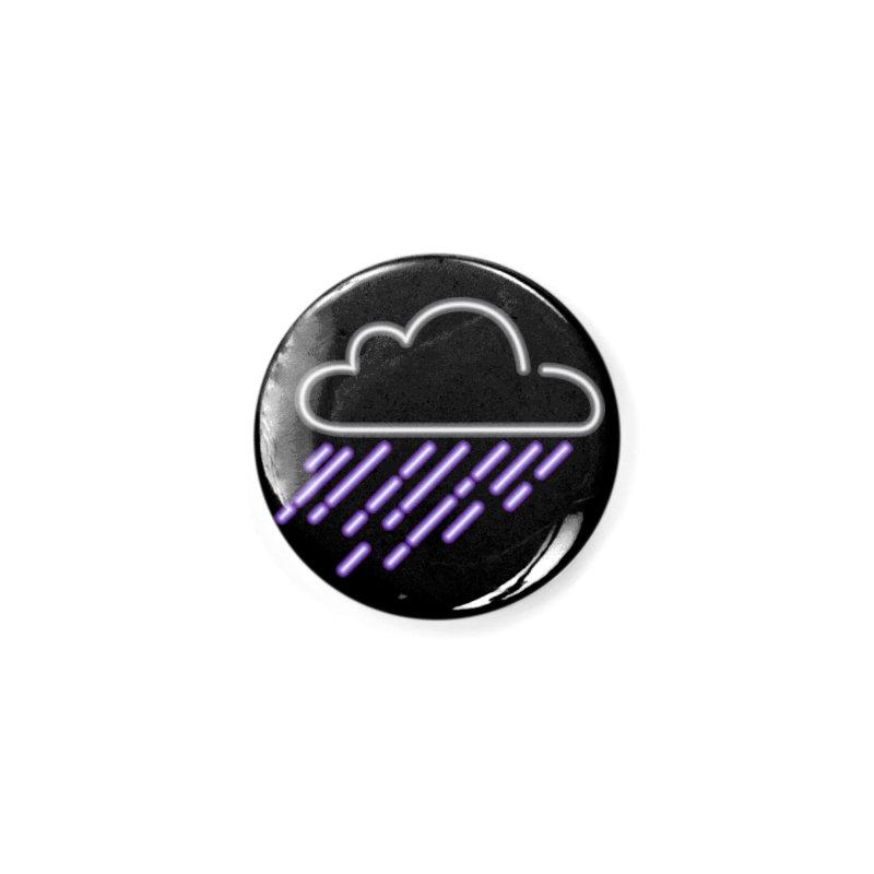 Purple Rain Accessories Button by Threadless Artist Shop