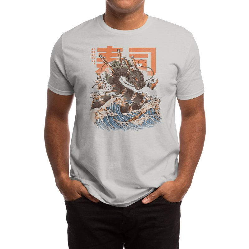 Great Sushi Dragon Men's T-Shirt by Threadless Artist Shop