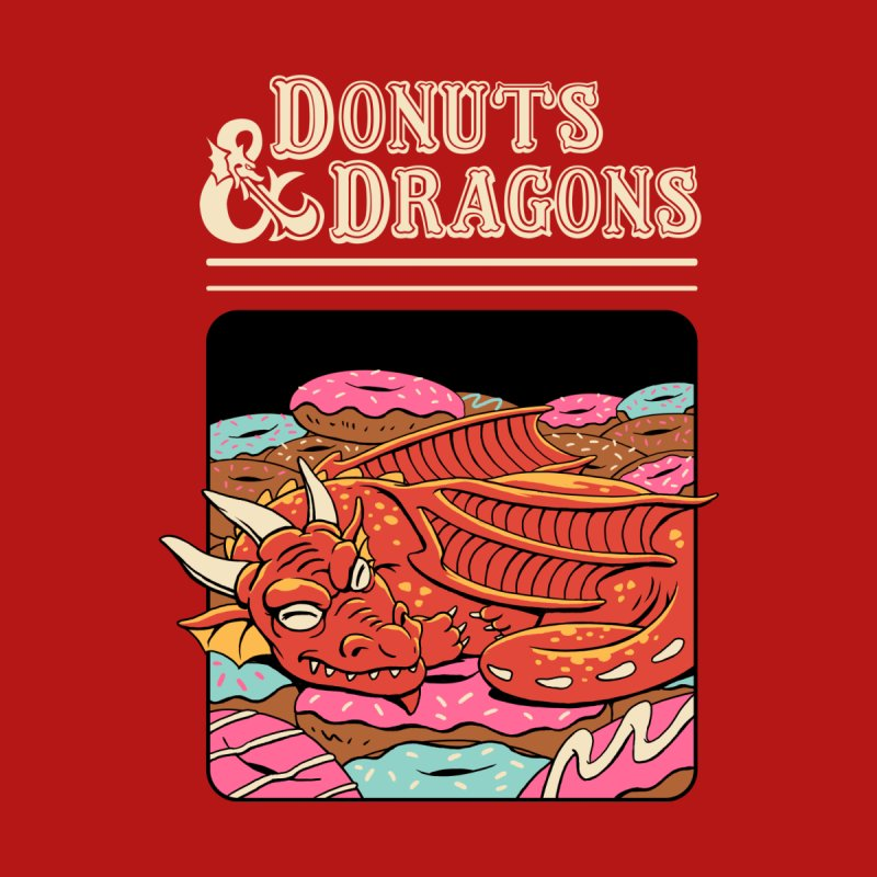 Donuts and Dragons Accessories Notebook by Threadless Artist Shop