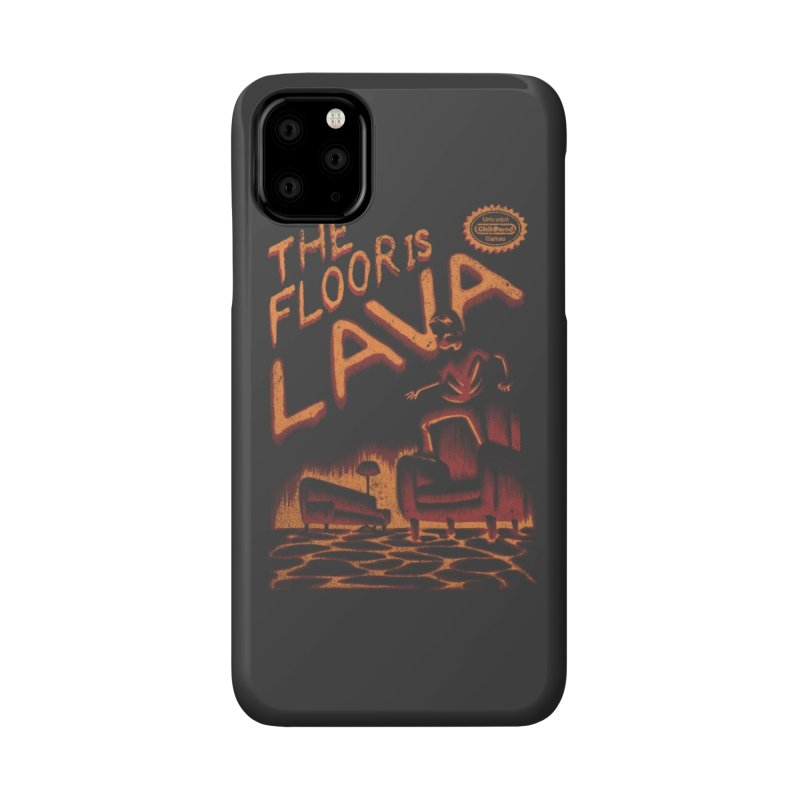 The Floor is Lava Accessories Phone Case by Threadless Artist Shop