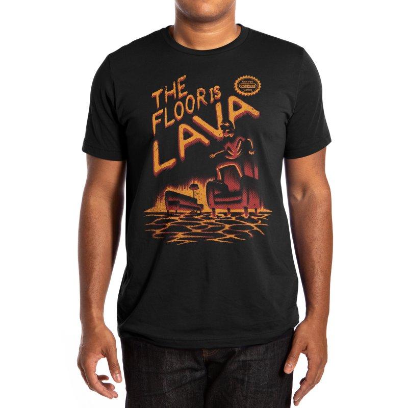 The Floor is Lava Men's T-Shirt by Threadless Artist Shop