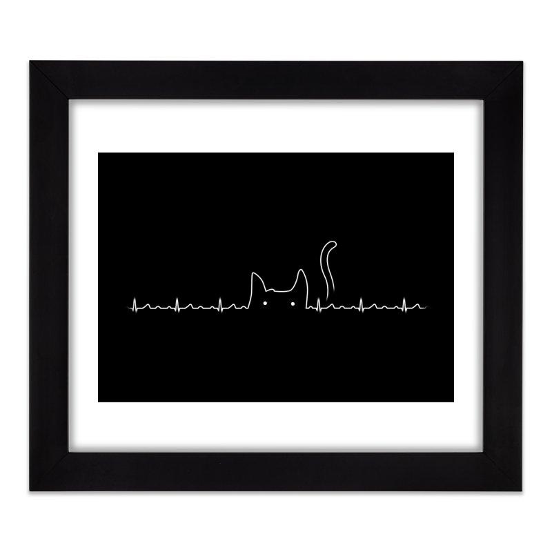 Cat Lover Home Framed Fine Art Print by Threadless Artist Shop