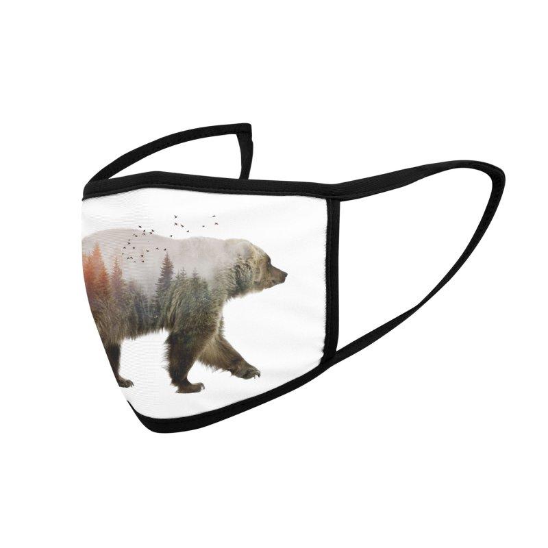 Bear Accessories Face Mask by Threadless Artist Shop