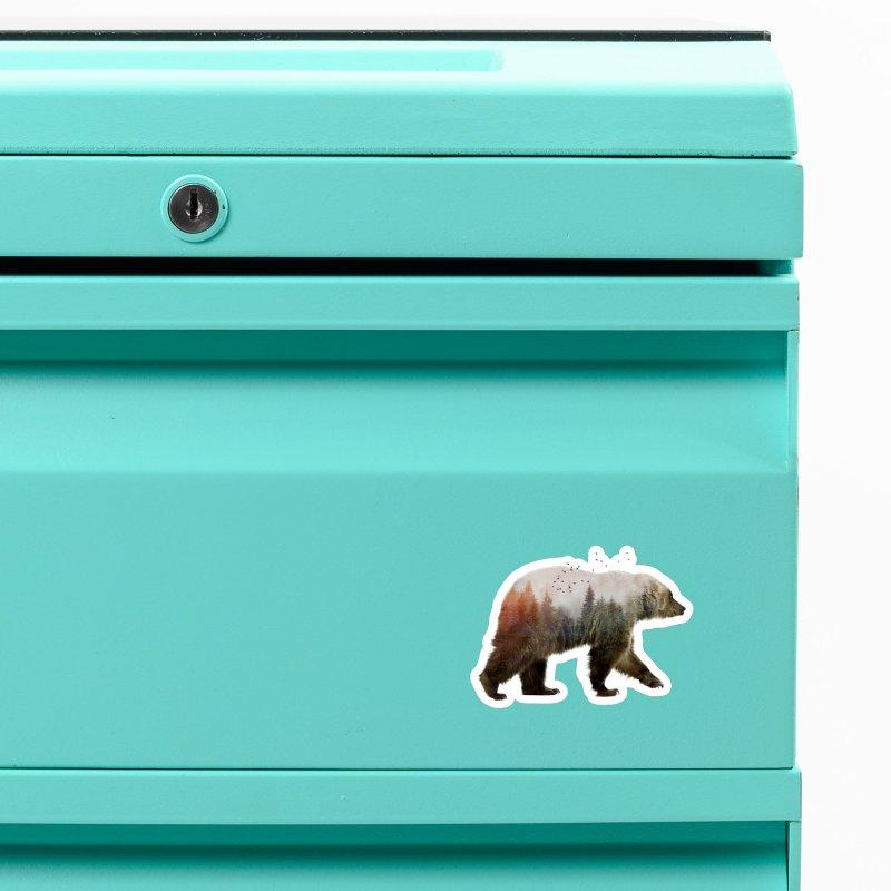 Bear Accessories Magnet by Threadless Artist Shop