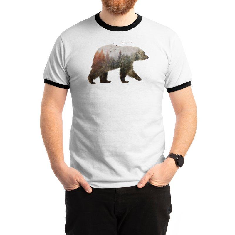 Bear Men's T-Shirt by Threadless Artist Shop