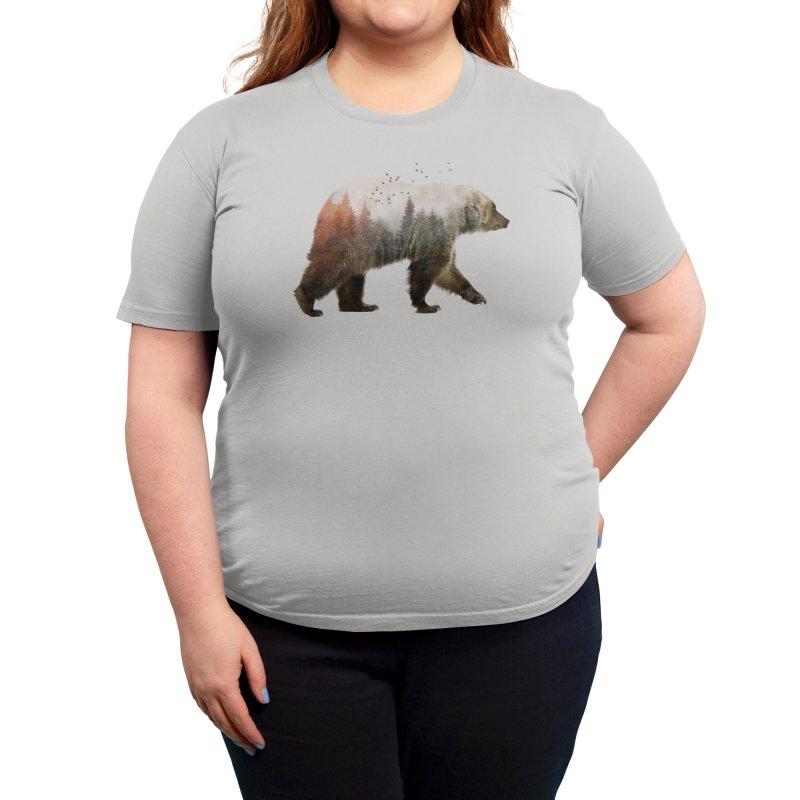 Bear Women's T-Shirt by Threadless Artist Shop