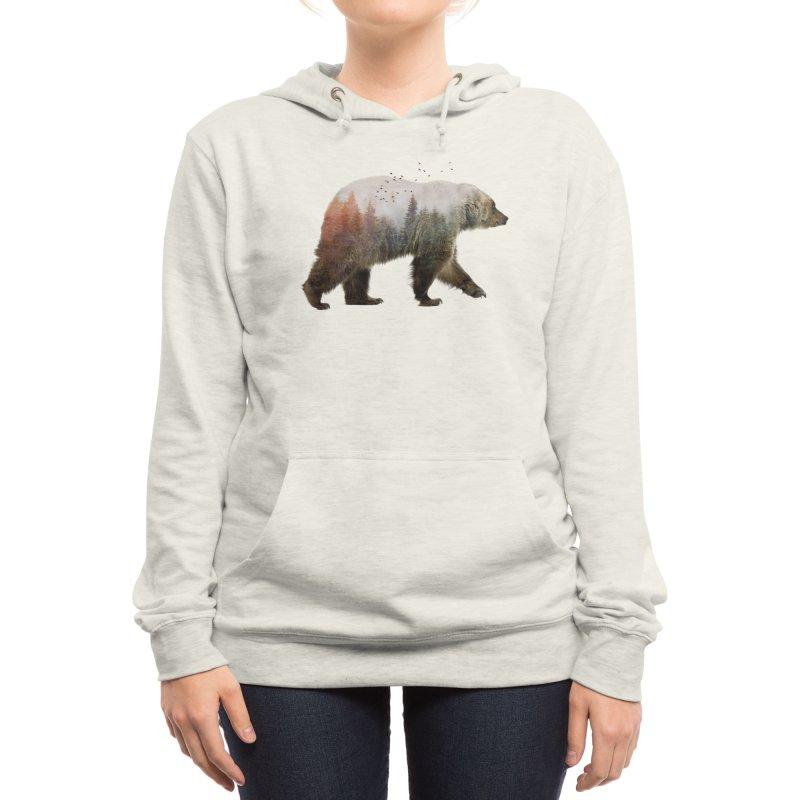 Bear Women's Pullover Hoody by Threadless Artist Shop