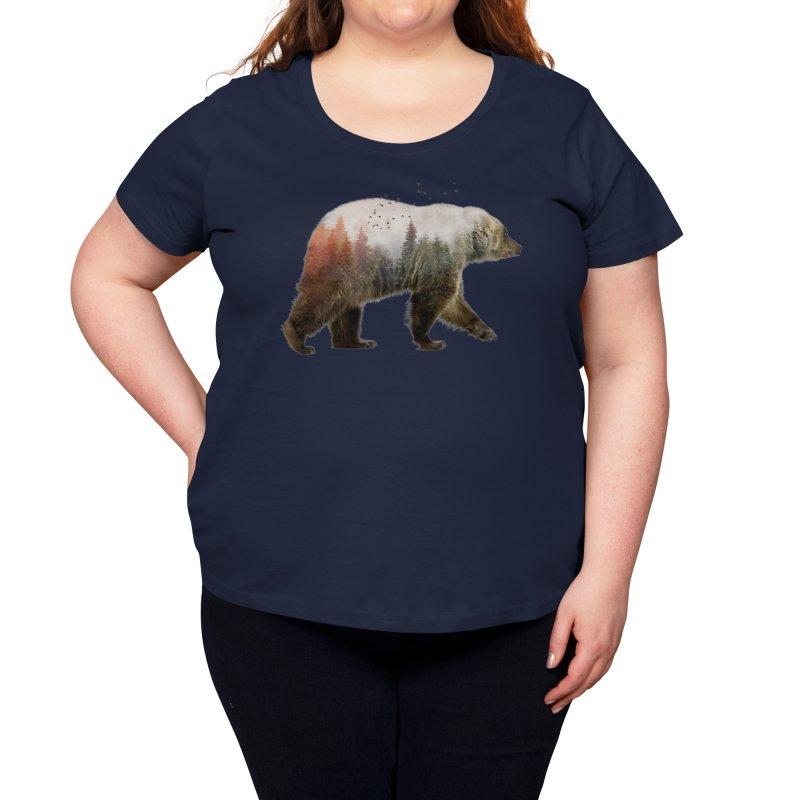 Bear Women's Scoop Neck by Threadless Artist Shop
