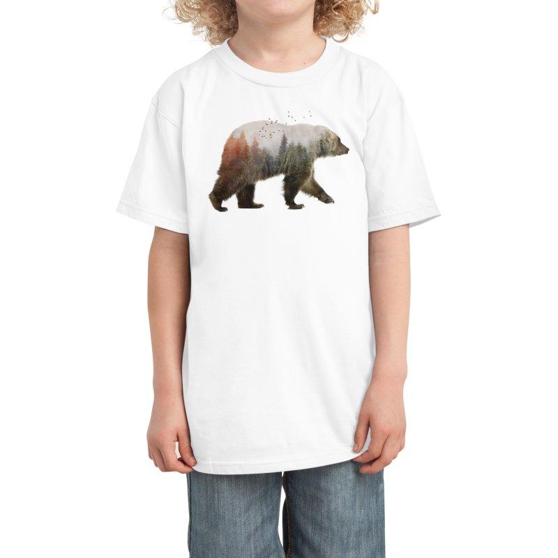 Bear Kids T-Shirt by Threadless Artist Shop