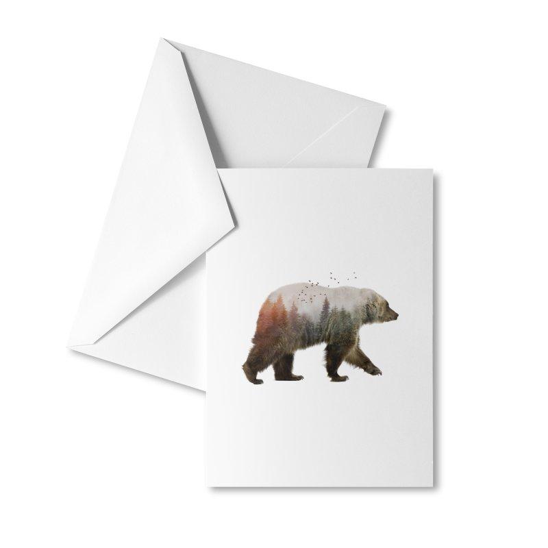 Bear Accessories Greeting Card by Threadless Artist Shop