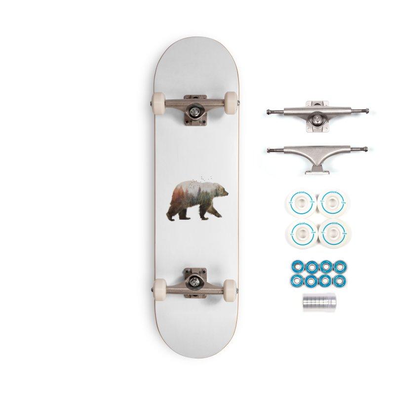 Bear Accessories Skateboard by Threadless Artist Shop