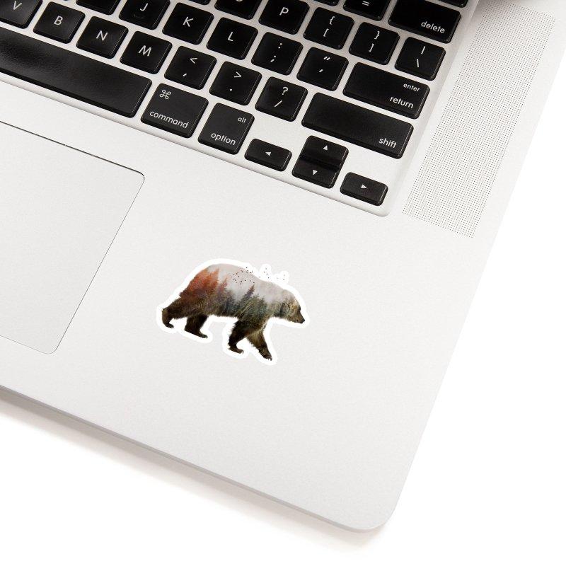 Bear Accessories Sticker by Threadless Artist Shop