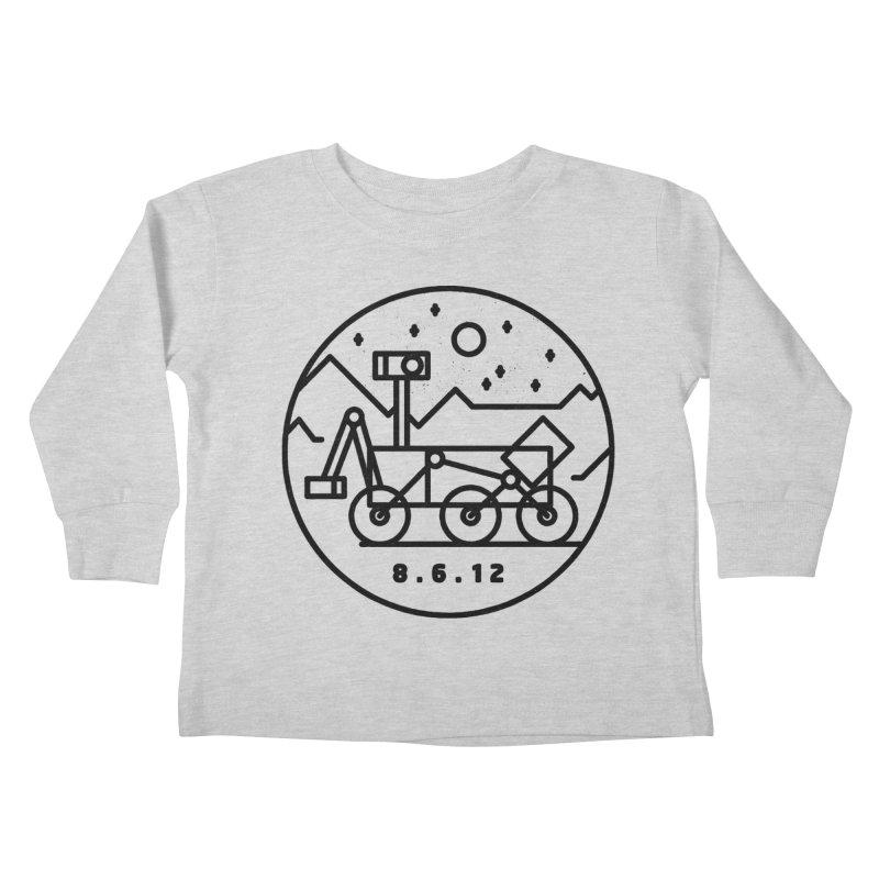 Stay Curious Kids Toddler Longsleeve T-Shirt by Threadless Artist Shop