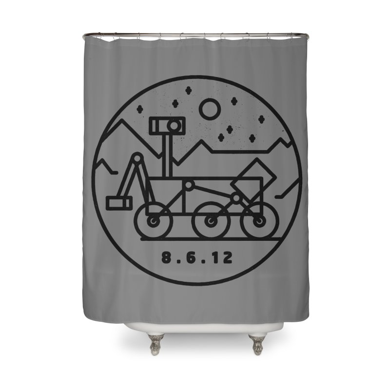Stay Curious Home Shower Curtain by Threadless Artist Shop
