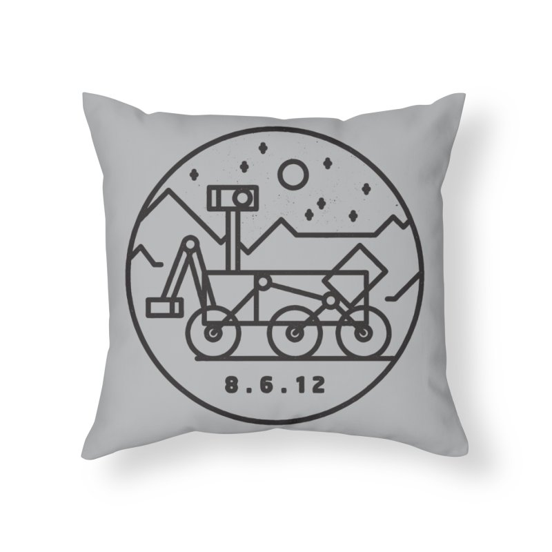 Stay Curious Home Throw Pillow by Threadless Artist Shop